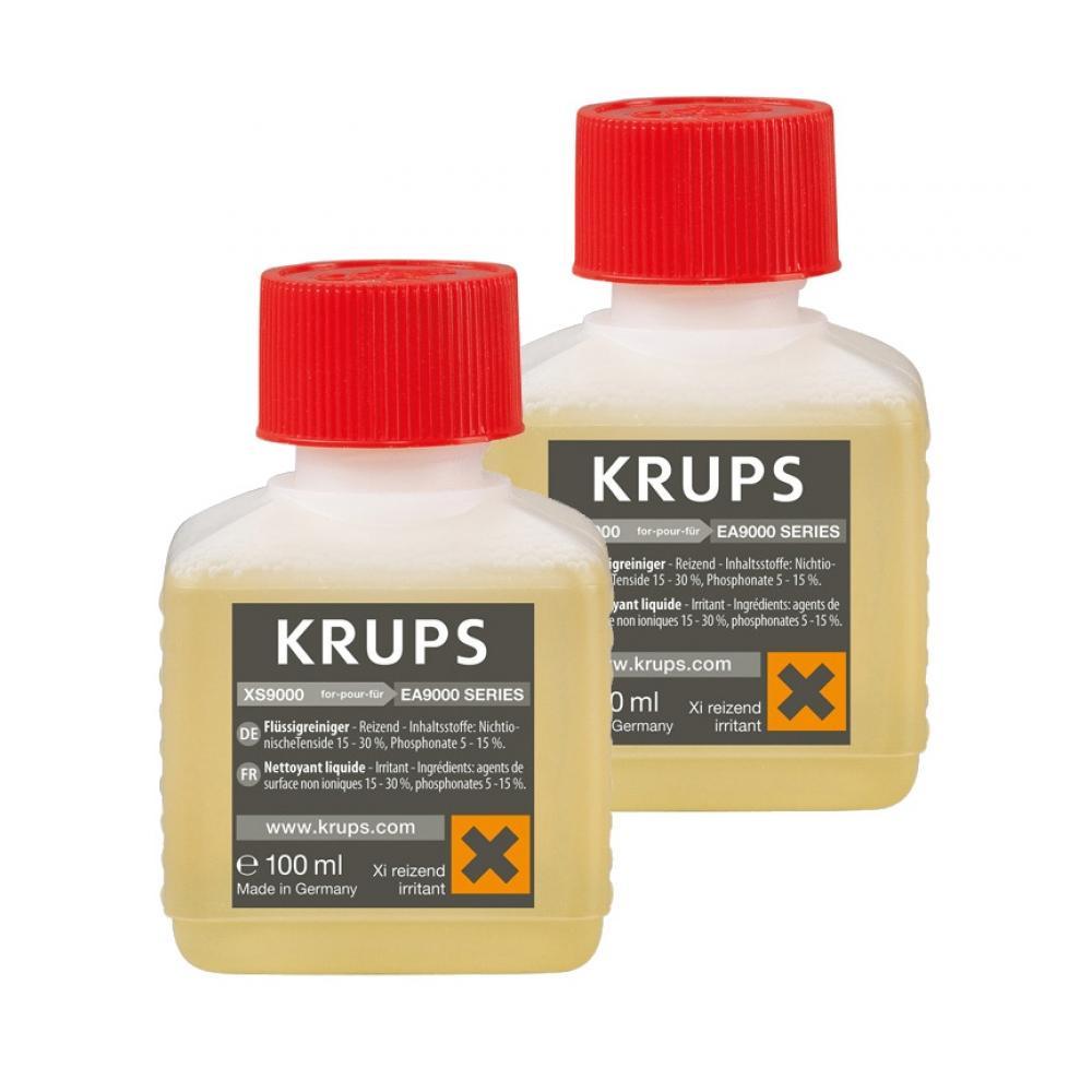 Жидкость для очистки (Для серии BARISTA) Krups XS900031 жидкость для очистки krups xs900031 100 мл х 2