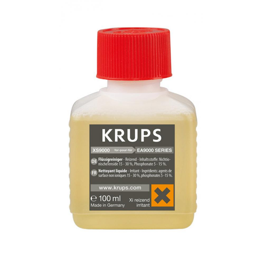 Жидкость для очистки автокапучинатора Krups XS900010 жидкость для очистки krups xs900031 100 мл х 2